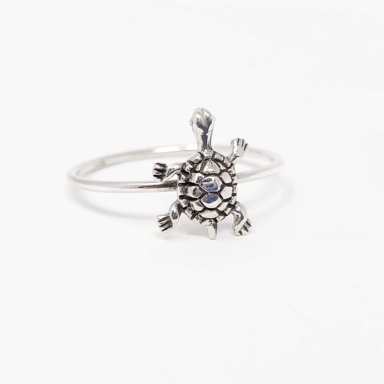 925 TURTLE SIMPLE RING