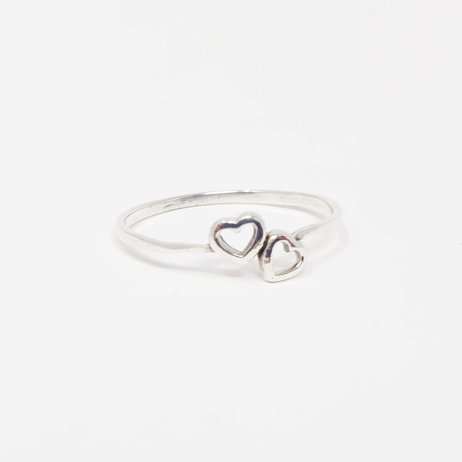 925 HEARTS SIMPLE RING