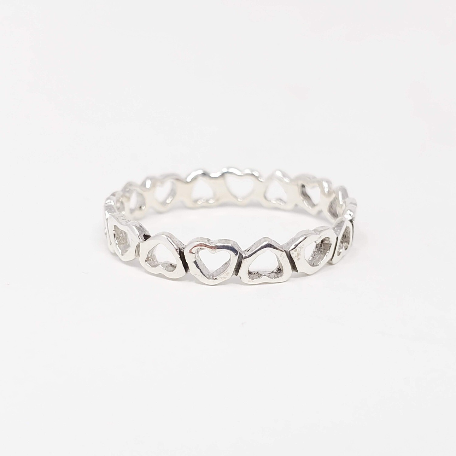 925 ENDLESS HEART RING
