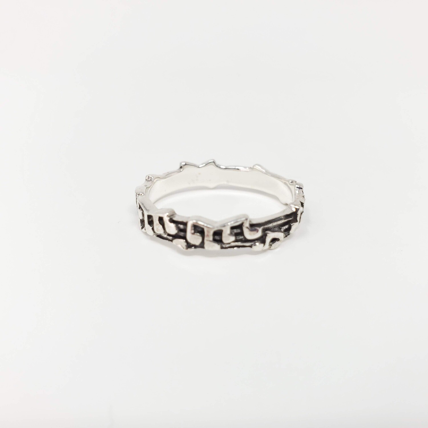 925 MUSICAL NOTE RING