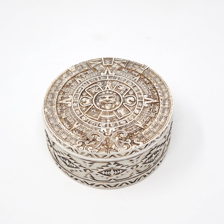 AZTEC ROUND BOX