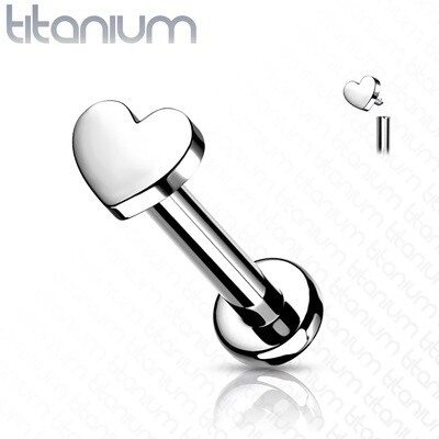 GR23 TITANIUM HEART LAB 16G