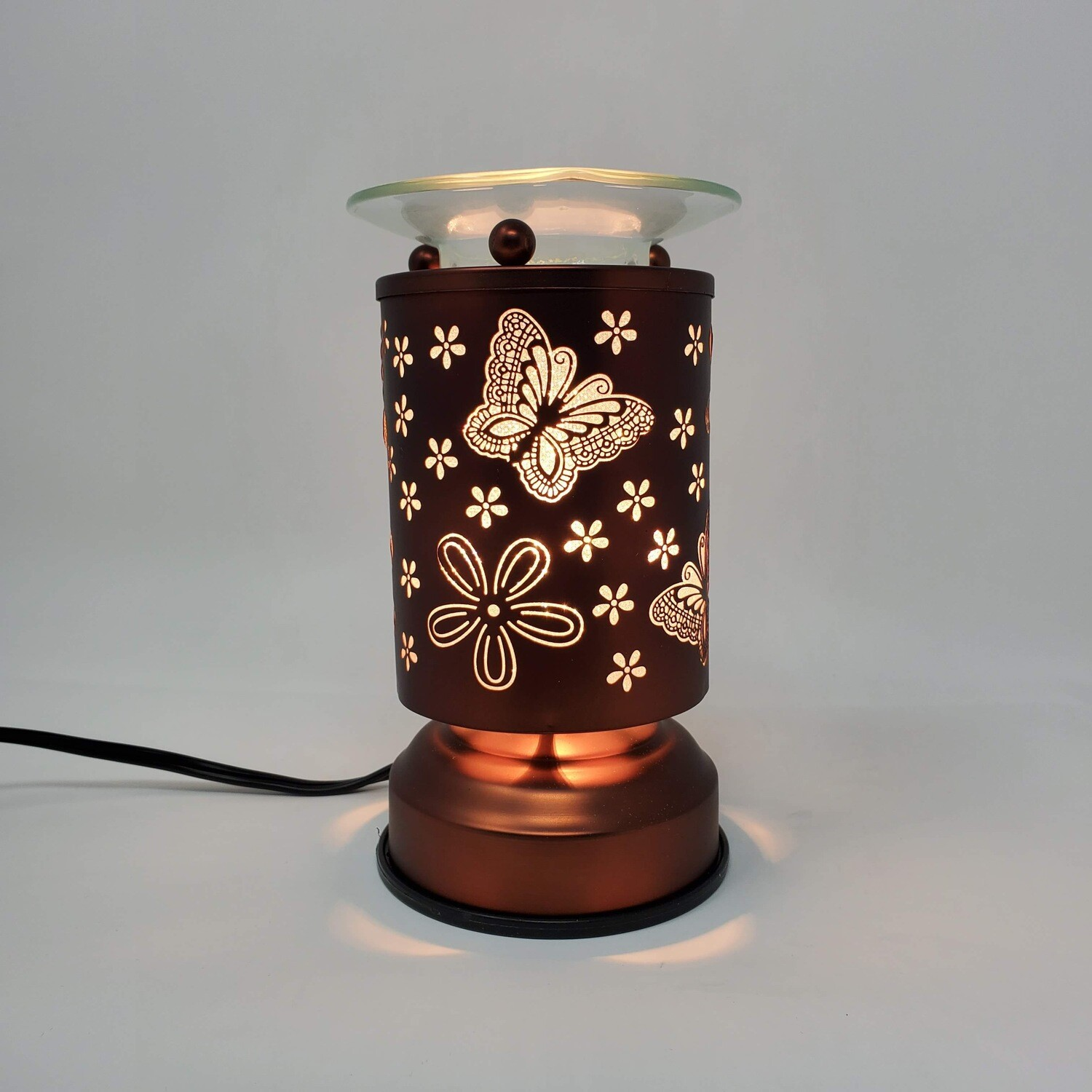 BUTTERFLY COPPER TOUCH LAMP