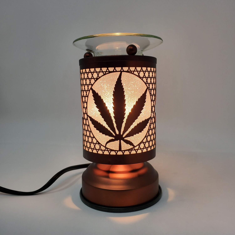 CANNABIS COPPER TOUCH LAMP