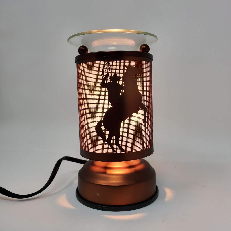 COWBOY COPPER TOUCH LAMP