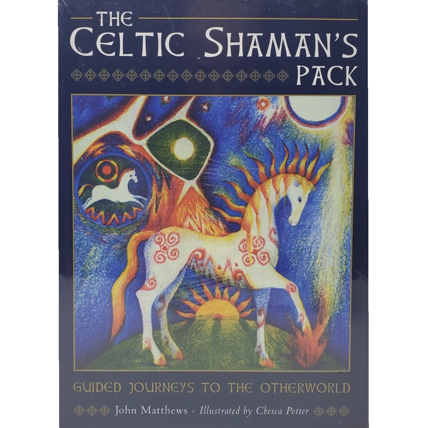 CELTIC SHAMAN'S PACK DECK AND BOOK