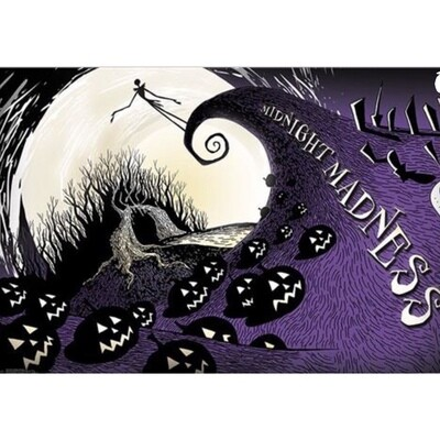 NIGHTMARE BEFORE CHRISTMAS MIDNIGHT MADNESS POSTER