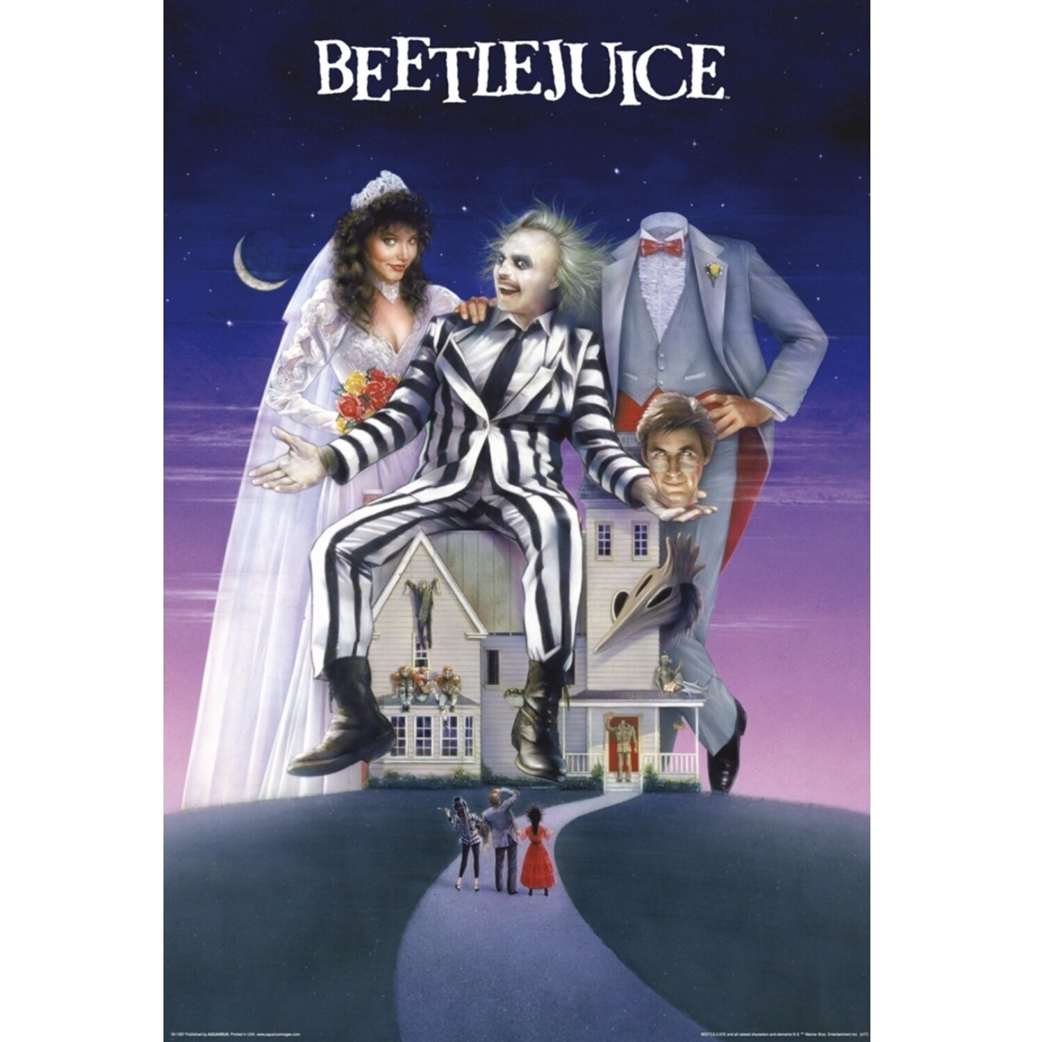 BEATLEJUICE HOUSE POSTER