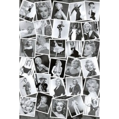 MARILYN MONROE MONTAGE POSTER