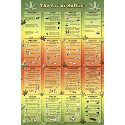 ART OF ROLLING POSTER