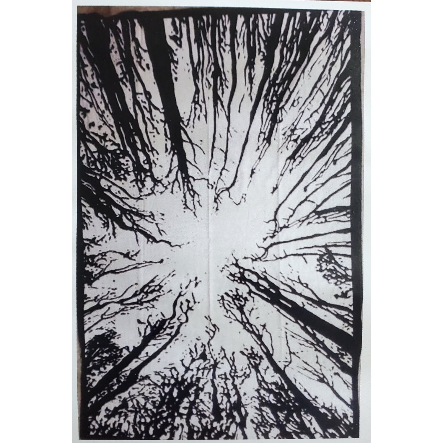 BLK/WHT FOREST TAPESTRY