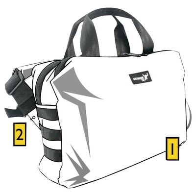 W?ldcard Mission Attaché Custom Bag Builder