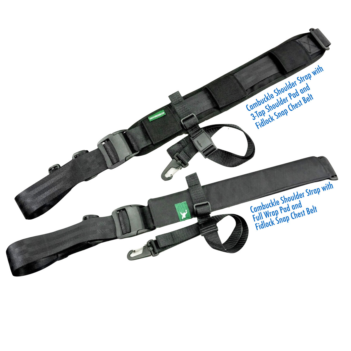 ISS Cambuckle harness system