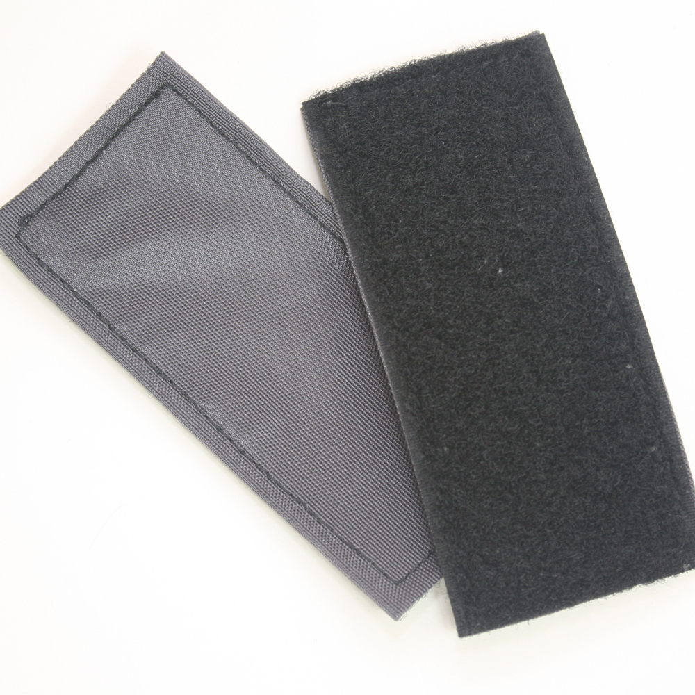 Velcro silencer patch