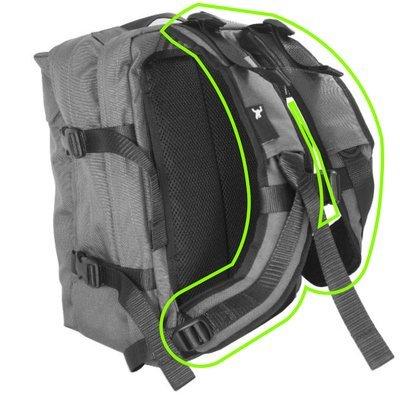 Backpack shoulder strap repair