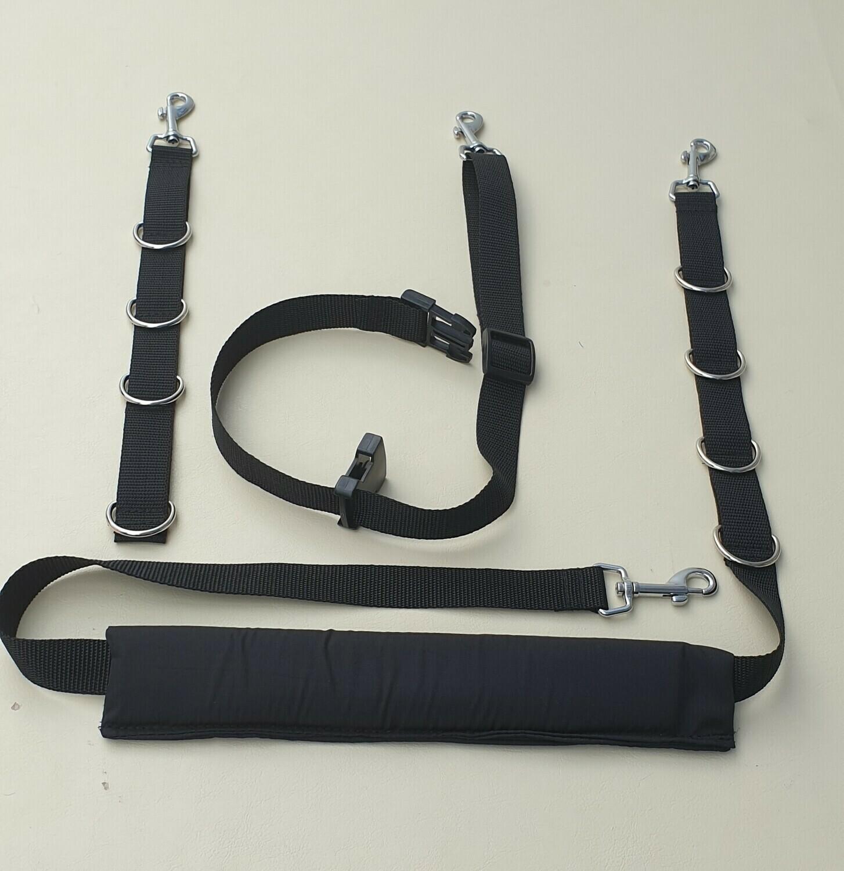 Budget restraints set (hair resistant padding)