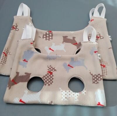 Fleece Cradles/hammocks, small and medium sized