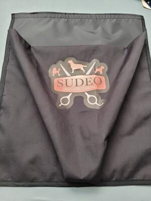 Fur bin with printed logo