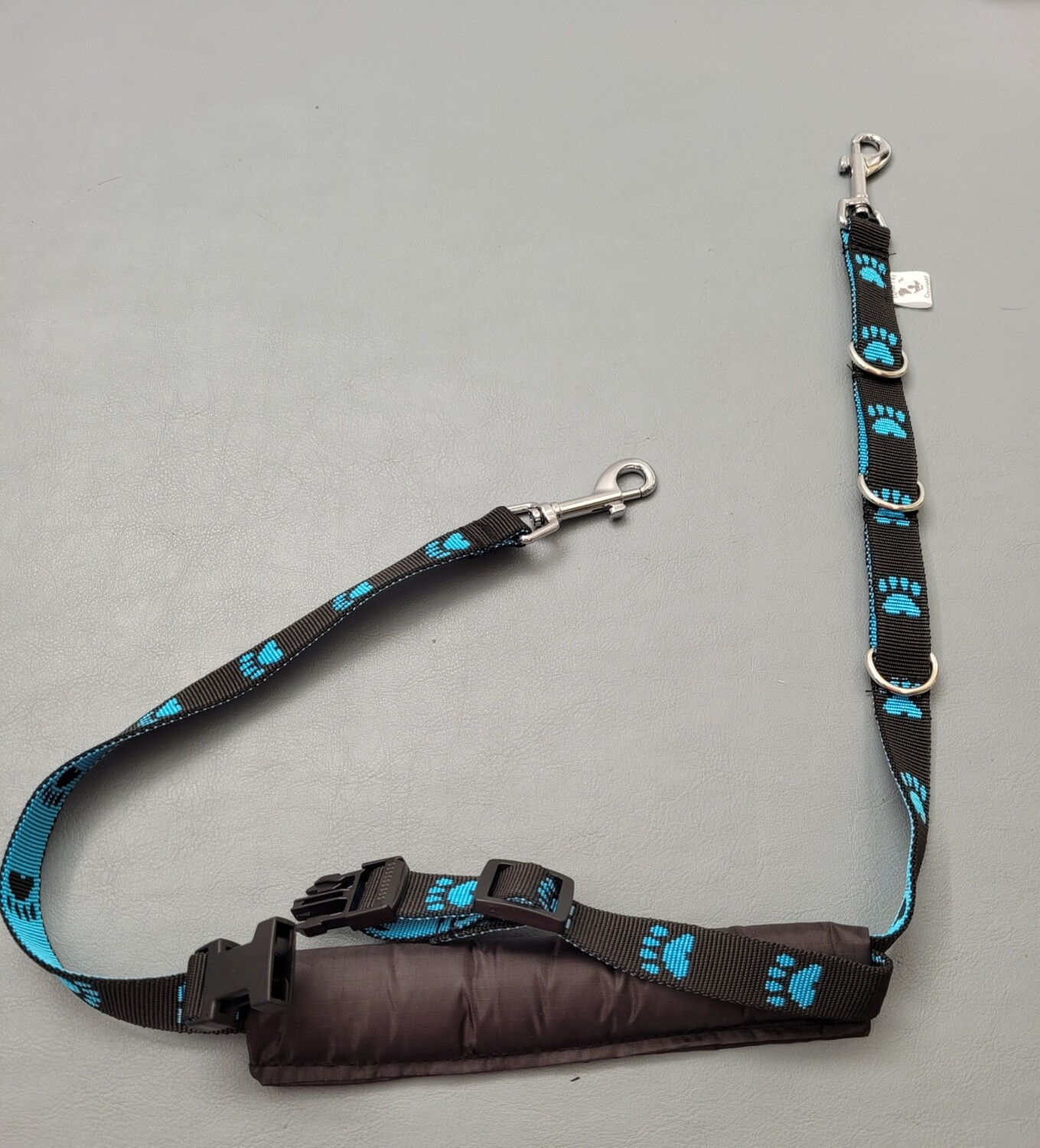 Small breed double belly strap