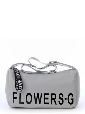 Сумка хобо Flowers
