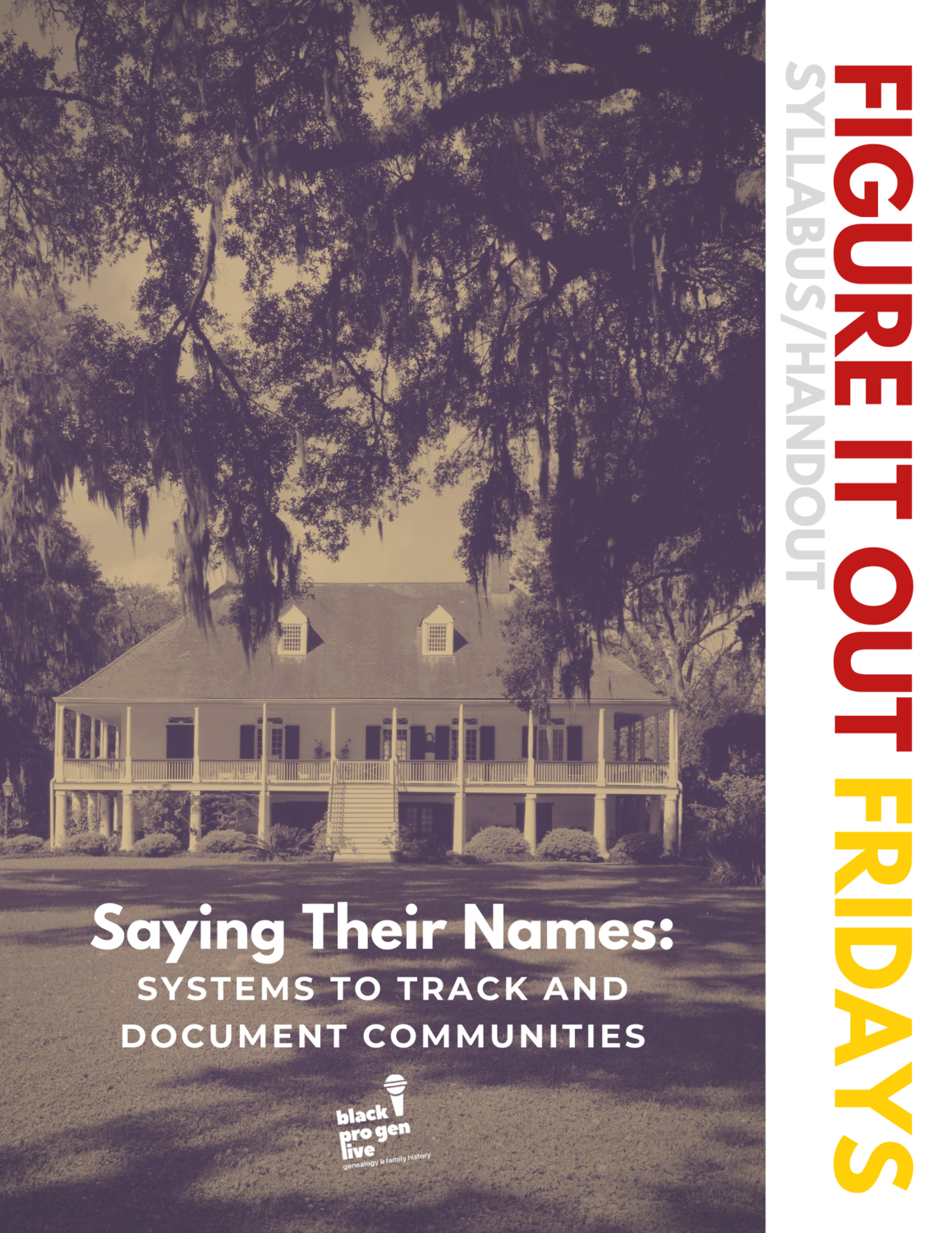 Systems to Track and Document Communities (Handout and Recording)
