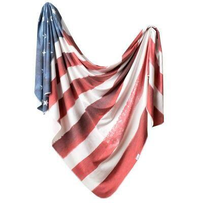 Patriot Knit Swaddle