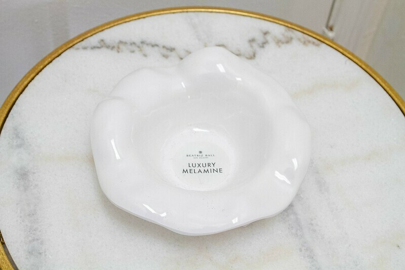 Beatriz Ball Sm. Havana White Bowl