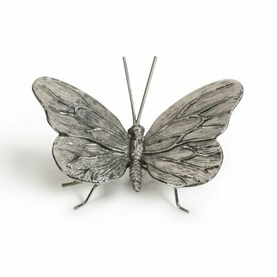 Antique Pewter Butterfly