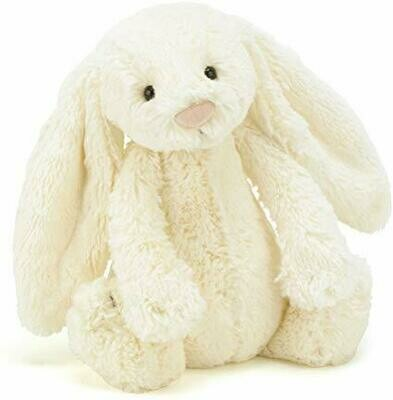 Bashful Cream Bunny Medium