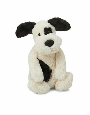 Bashful Blk/Cream Puppy Med