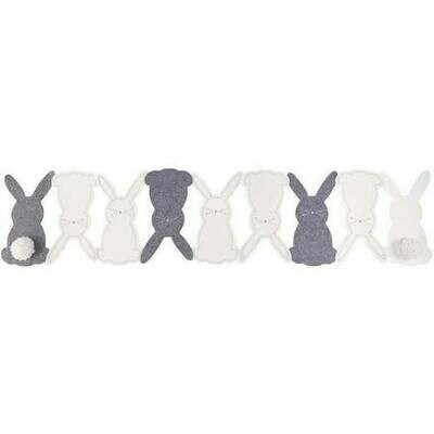 Felt Bunny Table Runner
