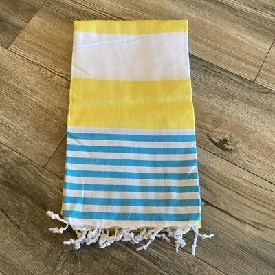 Boreas Towel Yellow/Blue