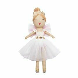 Ivory Ballerina Doll