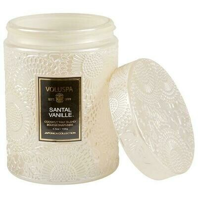 Santal Vanille 5.5 oz Glass Jar