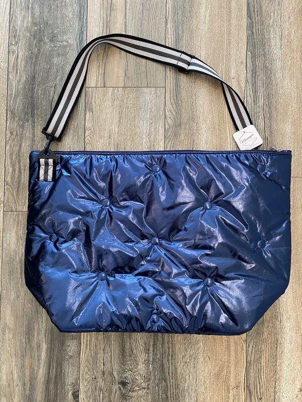 Tufted Weekender Bag