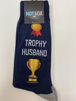 Trophy Husband-Navy