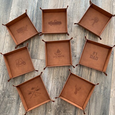 Simply Southern Leather Tray