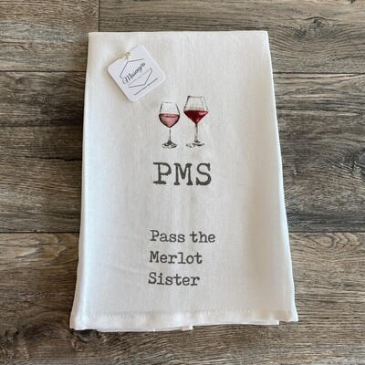 PMS Wine Towel
