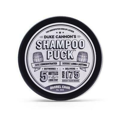 Shampoo Puck Barrel Char
