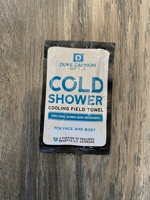 Cold Shower Towel