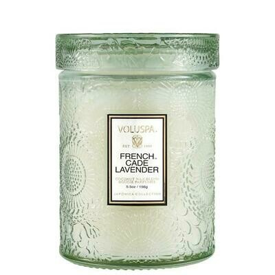 French Cade Lavender 5.5 oz Glass Jar