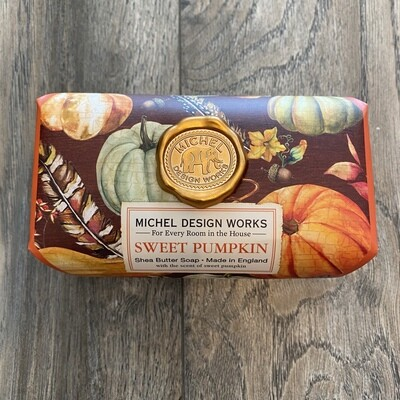 Sweet Pumpkin Lg Bath Bar Soap