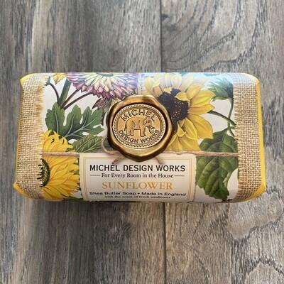 Sunflower Lg Bath Bar Soap