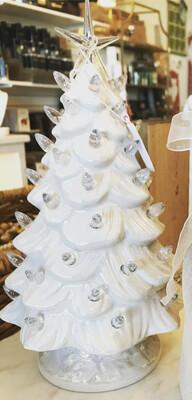 White Ceramic Tree