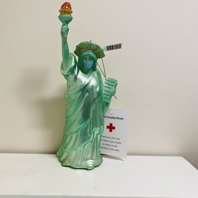 Statue of Liberty PPE Ornament