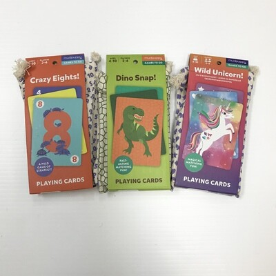 Mud Puppy Playing Cards