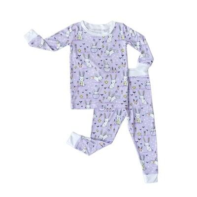 Lavender Bunnies 2 Piece