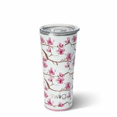Swig 32oz Cherry Blossom Tumbler