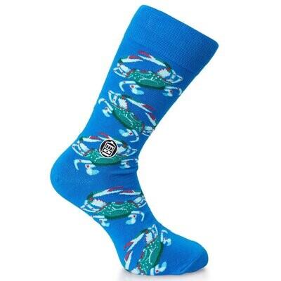 Blue Crab Socks