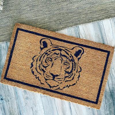 Tiger Doormat